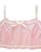PINK STRIPE CROP $5