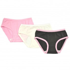 3PK KNICKERS LAST ONE SOLID 2-3 $15