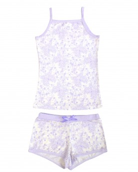 2pc Cami and Underwear Set – Purple Butterfly $15