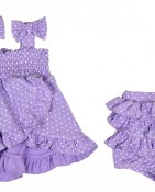 BOWTIE DRESS 2PC – LILAC $15