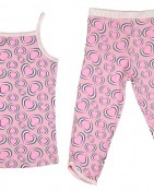 2PC CAMI AND 3/4 PANT – PINK TRIO $15