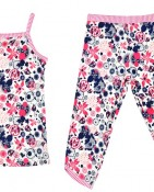 2PC SET CAMI & 3/4 PANT – NAVY SPLATTER $15